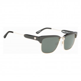 SPY Sunglasses BELLOWS, BLACK/GOLD - HAPPY GRAY GREEN