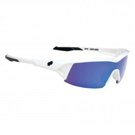 SPY Sunglasses SCREW UNDER, WHITE - BRONZE w/ BLUE SPECTRA