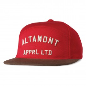 ALTAMONT Cap QUALIFIER SNAPBACK FA 14, red
