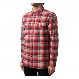 ALTAMONT Shirt GARTH L/S red