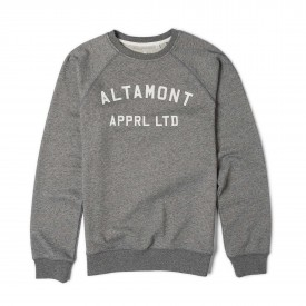 ALTAMONT Sweat NON GAME CREW FLEECE grey/heather