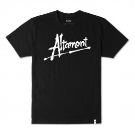 ALTAMONT T-Shirt ALTAMONT NOW black