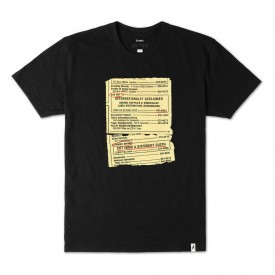 ALTAMONT T-Shirt ALTAMONT X SUB POP PAGES black