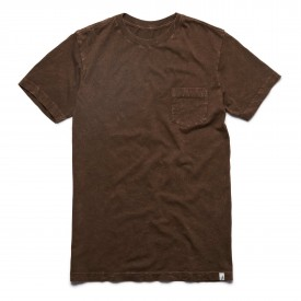ALTAMONT T-Shirt LAUNDRY DAY tobacco