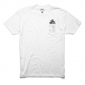 ALTAMONT T-Shirt NATURAL BORN ROMANCE white