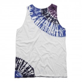 ALTAMONT T-Shirt OPTIC PEAK TANK blue