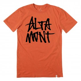 ALTAMONT T-Shirt STACKED orange