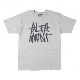 ALTAMONT T-Shirt STACKED silver