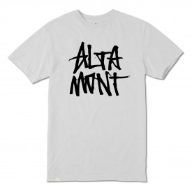ALTAMONT T-Shirt STACKED white