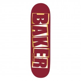BAKER Deck BRAND NAME RED FOIL B2 RZ 8.3, red 8.3''