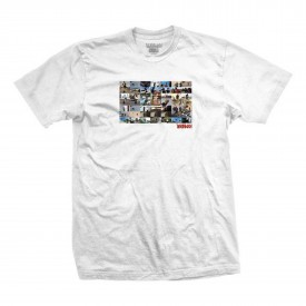 DEATHWISH T-Shirt UNCROSSED white