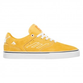 EMERICA Shoe THE LOW VULC yel/whi yellow/white