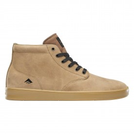 EMERICA Shoe ROMERO LACED HIGH bro/bla/gum brown/black/gum