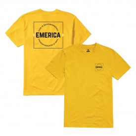 EMERICA T-Shirt STATEMENT gold
