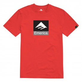 EMERICA Youth T-Shirt KIDS PURE (CLASSIC) COMBO red