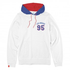 eS SKB Sweat LAYUP Pullover Fleece white