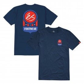 eS SKB T-Shirt COURT LOGO navy