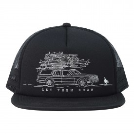 HIPPYTREE Cap WAGON, black