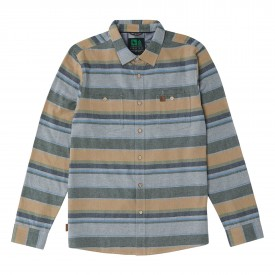 HIPPYTREE Shirt BASALT Flannel grey