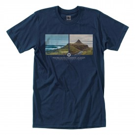 HIPPYTREE T-Shirt ARCTIC heather navy