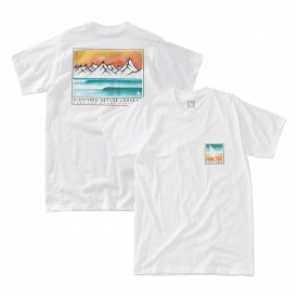 HIPPYTREE T-Shirt WAVECREST ECO white