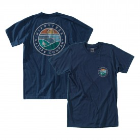 HIPPYTREE T-Shirt WAVEFORM ECO navy