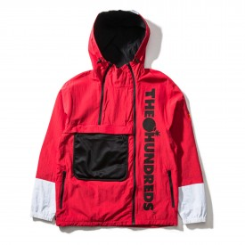 THE HUNDREDS Jacket TERRAIN bright red