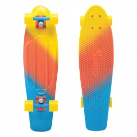 PENNY Complete 22 FADES SERIES Skateboard, yellow/red/blue (canary) One Size