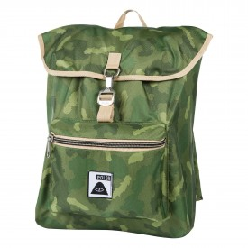 POLER Bag FIELD PACK, green camo FA15