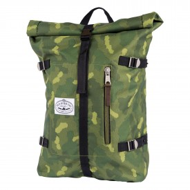 POLER Bag RETRO (CLASSIC) ROLLTOP green camo SP16 + FA16