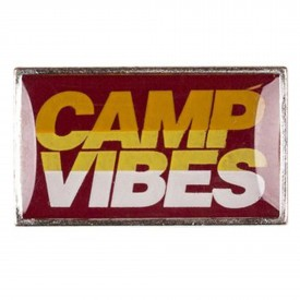 POLER Acc. CAMP VIBES PIN, red