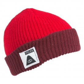 POLER Beanie TRAILBOSS, dark red