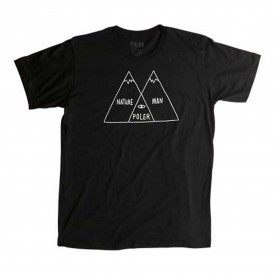 POLER T-Shirt VENN DIAGRAM (MEN) black