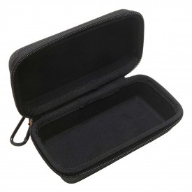 SPY NYLON ZIPPER SUNGLASS CASE, black