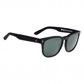 SPY Sunglasses BEACHWOOD, MATTE BLACK - HAPPY GREY GREEN