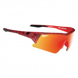 SPY Sunglasses SCREW OVER, INFINITE RED - HAPPY GRAY GREEN W/RED SPECTRA