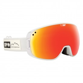 SPY SN Goggle BRAVO (with/BONUS LENS), WAXED WHITE - HAP GRAY GREEN/ RED SPEC+HAP