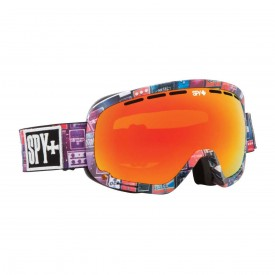 SPY SN Goggle MARSHALL, VOLUME 11 (FLIGHT STRAP) - bronzew/red spectra